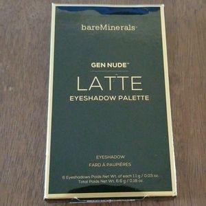 bareMinerals Gen Nude Latte eyeshadow palette